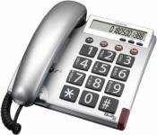 Großtasten-Telefon BIGTEL 48 silber