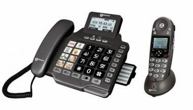 Seniorentelefon Geemarc AmpliDECT 355 Combo