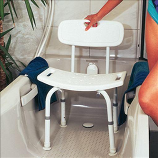 seniorenfachhandel duschhocker mit r ckenlehne. Black Bedroom Furniture Sets. Home Design Ideas