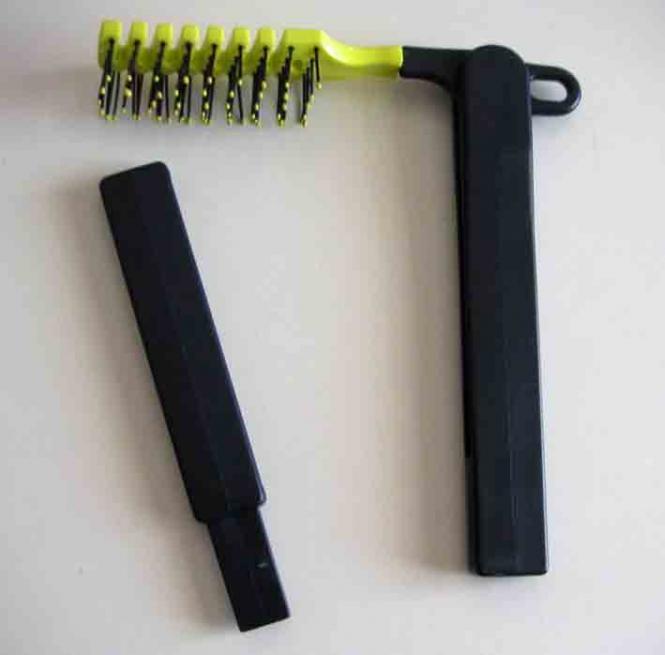 Haarbürste mit Verlängerung