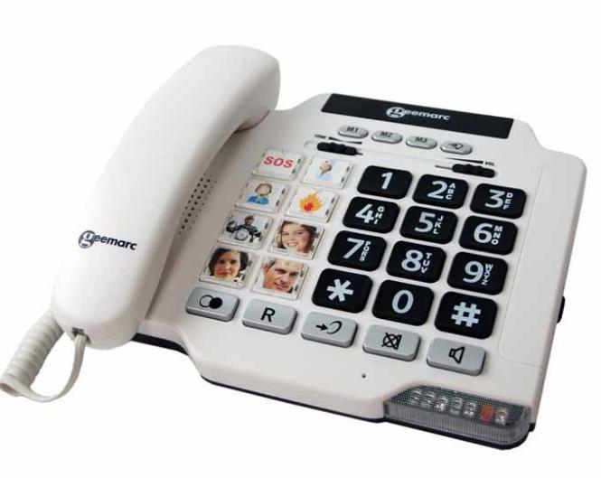 Schwerhörigen-Telefon Geemarc PhotoPhone 100